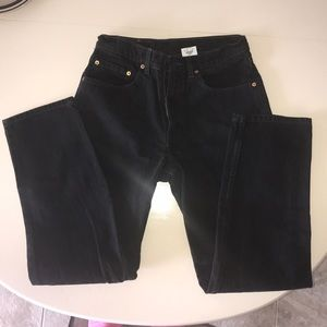 Black 550 Relaxed Fit 32x32 Jeans